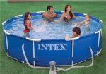 INTEX medence 366x76cm papírszűrős vízforgatóval