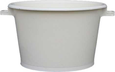 Tub with handle 62 cm 80 liters