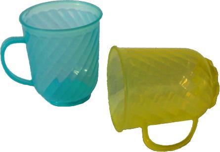 Plastic mug 0.3 liter