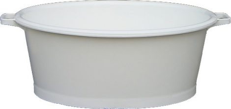 Ovális sózókád 70 literes