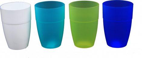 Műanyag pohár 0,33 literes