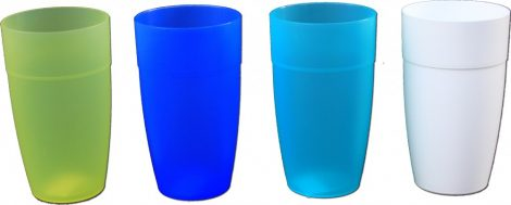 Plastic cup 0.5 liter