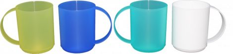 Plastic mug 0.4 liter