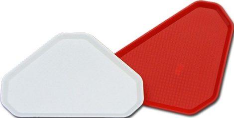 Triangular tray Polystyrene