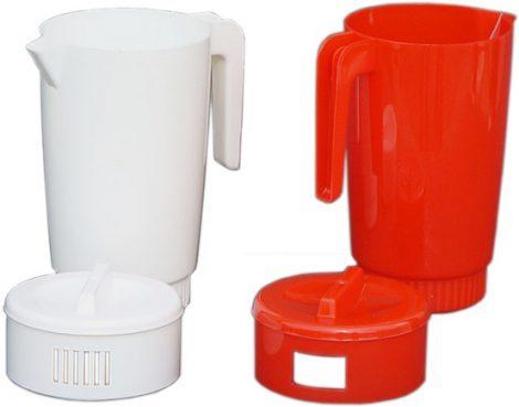 Jug with lid 2 liters