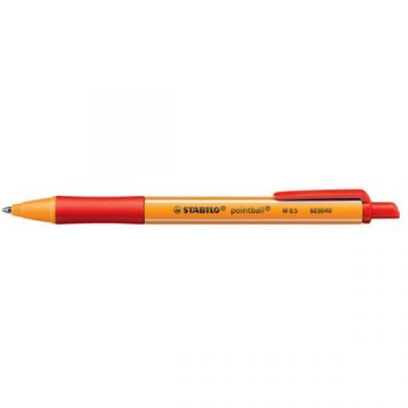STABILO Pointball pen 'M' 0,5 mm red