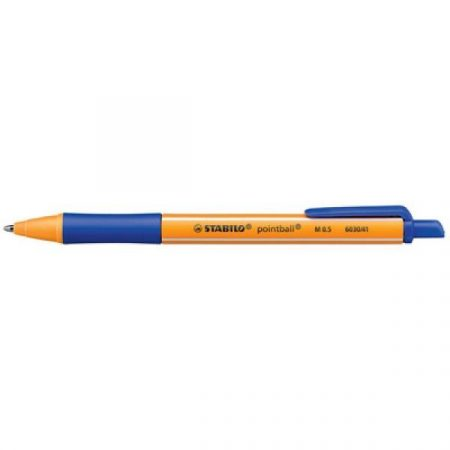 STABILO Pointball pen 'M' 0,5 mm blue