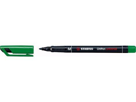 STABILO OHPen permanent 'M' 1mm zöld