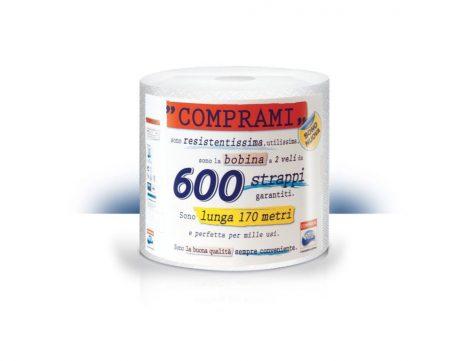 Papírtörlő Comprami 600 lapos