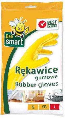 Háztartási gumikesztyű L-es Bee Smart