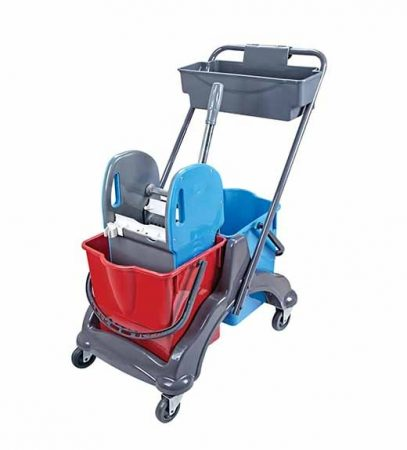 Cleaning trolley 2x18 liters