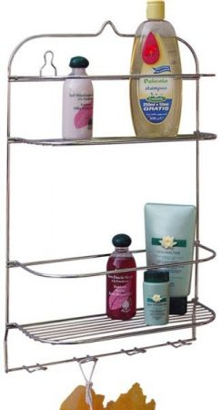 Finery shelf with hanger