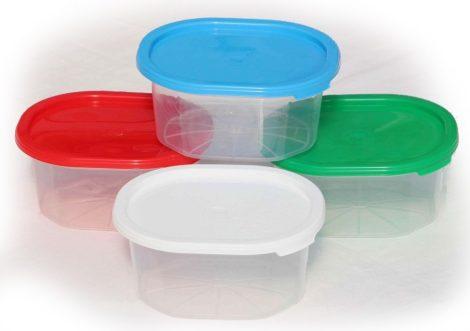 Mikró-fagyasztós edény 0,43 literes