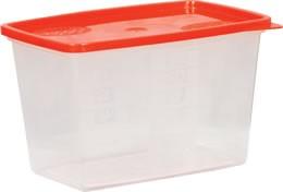 Mikró-fagyasztós edény 1,2 literes
