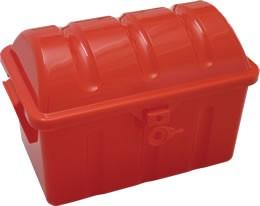 Plastic pirate chest