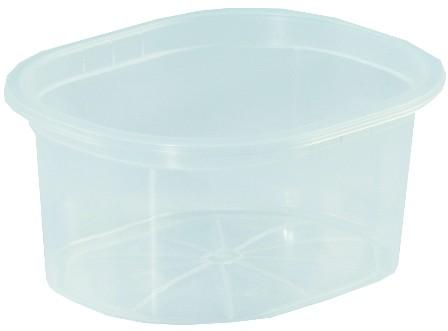 Ételszállító edény 0,43 literes, fóliázható