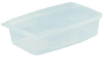 Ételszállító edény 0,5 literes, fóliázható