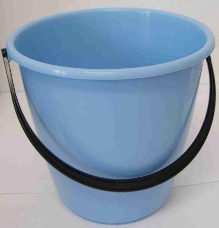 Újrahasznosított vödör műanyag füllel 5 literes