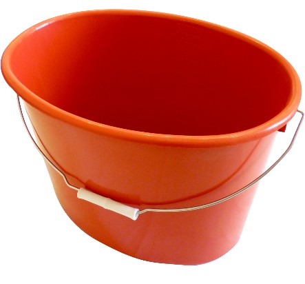 Recycled oval bucket 18 liters