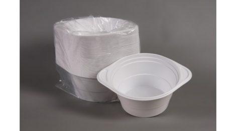 Party műanyag gulyástál füles 750ml 20 db-os fehér