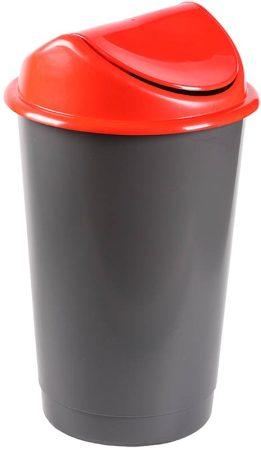 DELTA billenőtetős szemetes 60 literes