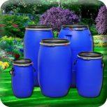 Barrels and cans
